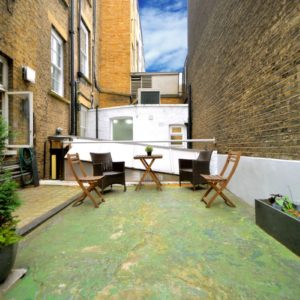 London Casting Studio - The Audition House - Rehearsal Space - Courtyard Garden