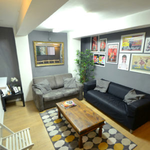London Casting Studio - The Audition House - Rehearsal Space Waiting Room