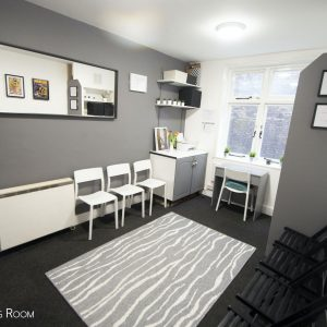 London Casting Studio - The Audition House - Rehearsal Space Lennon Waiting Room